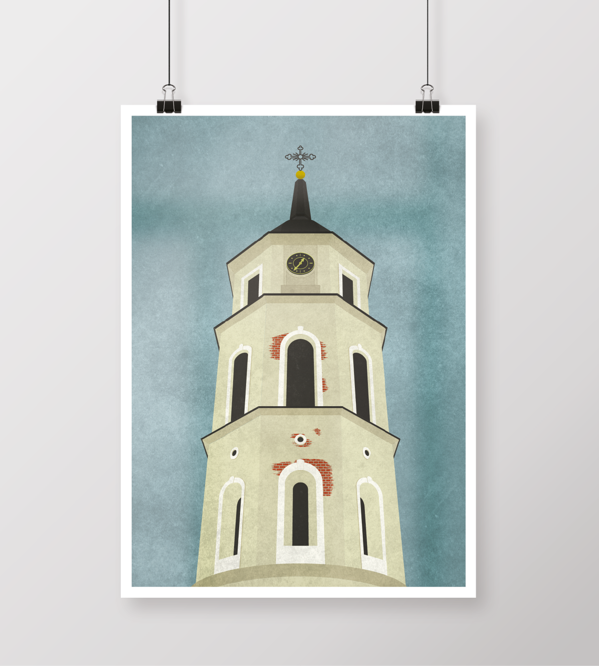 vilnius-cathedral-bell-tower-poster